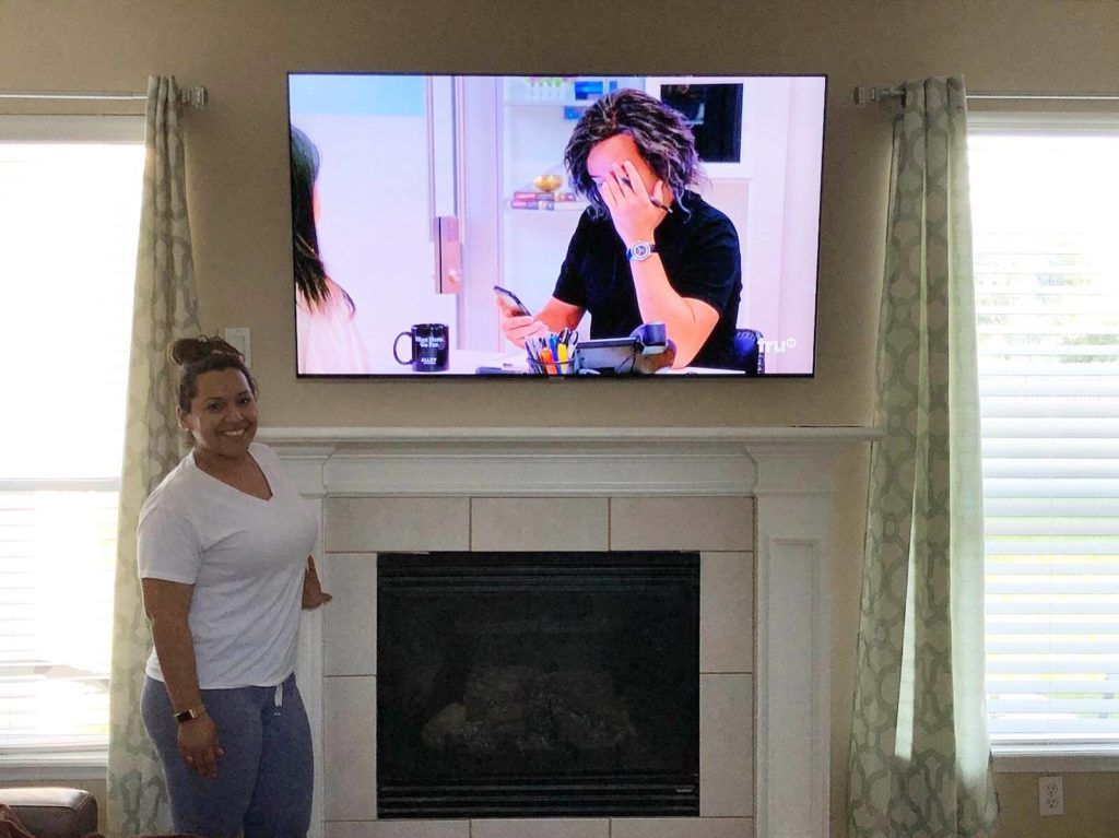 Best TV mounting in Houston