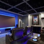 Home theater installation in Houston